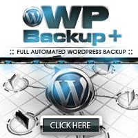 WP Backup Plus